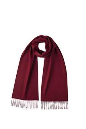 Johnstons of Elgin WA16 纯色羊绒围巾 325元