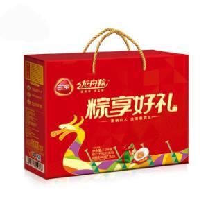 三全 龙舟粽 粽享好礼礼盒粽子 1.2kg 南方口味 (10只粽子 4枚鸭蛋)plus *3件+凑单品 162元(合54元/件)