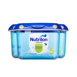 荷兰Nutrilon牛栏/诺优能进口婴幼儿配方奶粉5段800g*3罐360.03元