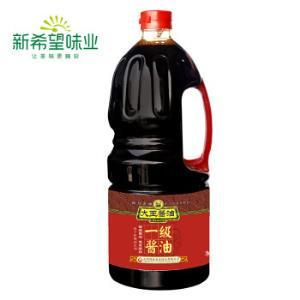 大王一级酱油1.8L餐饮装黄豆酱油四川特产烹饪炒菜面食*2件 14.8元(合7.4元/件)