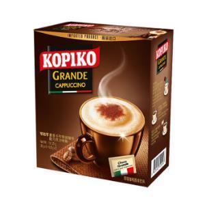 印尼进口可比可(KOPIKO)即溶咖啡饮料豪享卡布奇诺咖啡5包151.25g*9件 77.6元(合8.62元/件)
