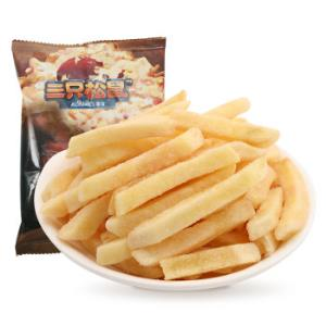三只松鼠休闲零食膨化小吃薯条原味小贱美式薯条75g/袋*17件 82.3元(合4.84元/件)