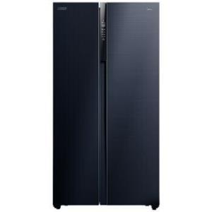 美的(Midea)639升对开门冰箱19分钟急速净味杀菌家用双开门智能电冰箱莫兰迪灰BCD-639WKPZM(E)