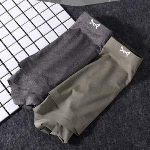 Miiow猫人MOF654136男士平角内裤2条礼盒装 32.4元