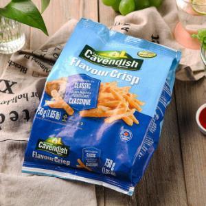 凯文迪施(Cavendish)加拿大进口特色脆薯条750g*7件    173.28元(合24.75元/件)