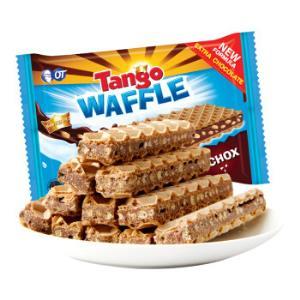 Tango威化饼干休闲零食咔咔脆威化饼干巧克力味48g(PLUS会员专享价)*29件100.1元(合3.45元/件)