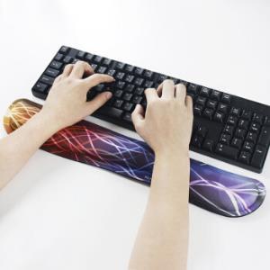 宜适酷(EXCO)记忆棉鼠标垫护腕键盘托超大号游戏垫腕托手托京东自营MSP030飞思 39.9元
