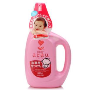 arau亲皙婴儿无添加自然派洗衣液800ml*3件    81.9元(合27.3元/件)