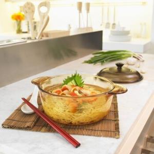 VISIONS康宁晶彩透明锅3.25L耐热玻璃餐具套装6件 469元
