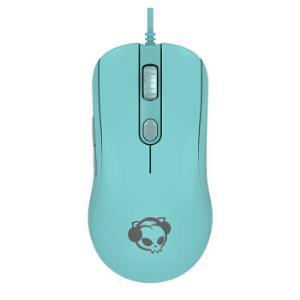 AKKOAG325对称式有线游戏鼠标吃鸡电竞鼠标薄荷蓝    109元