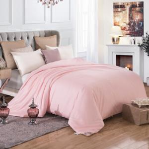 太湖雪100%桑蚕丝被优质长丝填充全棉斜纹面料粉色蚕丝净重2斤200*230cm 499元(需用券)
