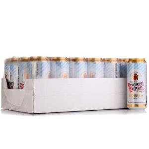 德国进口凯撒西蒙(Kaisersimon)小麦白啤酒500ml*24听整箱装*2件118.4元(合59.2元/件)