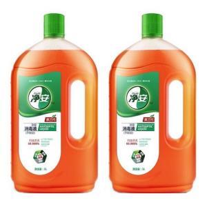88VIP:净安家用杀菌消毒液1L*2瓶*4件 114.72元(合28.68元/件)