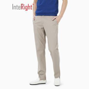 25日12点:InteRight男士商务休闲裤*2件 88.5元(合44.25元/件)