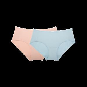 网易严选女式超细莫代尔内裤2条装49.9元