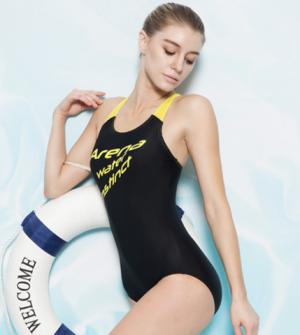 19日:arena阿瑞娜FSS7232W专业运动连体游泳衣女 117.2元(需用券)