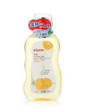 Pigeon贝亲XA240妈妈漱口液甜橙味300ml*5件    88.8元(合17.76元/件)
