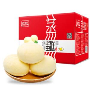 盼盼蒸蛋糕奶香1000g*4件 107.28元(合26.82元/件)