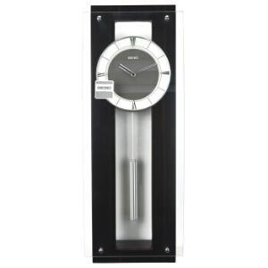 精工(Seiko)挂钟 简约时尚墙体居家办公挂钟设计师款QXC209B黑盘¥1299