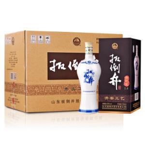 扳倒井38度浓香型白酒青花瓷纯粮酿造超大容量700ml*6瓶整箱装*5件    445元(合89元/件)