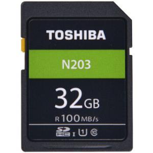TOSHIBA东芝N203系列32GBSD卡U1C10 39.9元