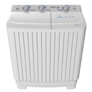 KONKA康佳XPB80-752S半自动洗衣机8.0公斤458元