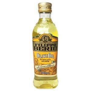 翡丽百瑞优选混合橄榄油500ml意大利原装进口食用油(FILIPPOBERIO)*4件 98元(合24.5元/件)