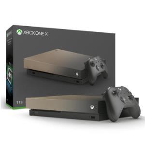 微软(Microsoft)XboxOneX1TB家庭娱乐游戏机渐变金限量版 3755元