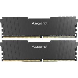 Asgard阿斯加特洛极T216GB(8GBx2)DDR43000频率台式机内存条 499元