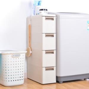 BELO百露塑料夹缝收纳柜加厚四层 111元