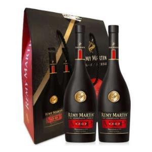 人头马(RémyMartin)洋酒V.S.O.P优质香槟区干邑白兰地双支礼盒375ml*2+凑单品 291.51元(需用券)