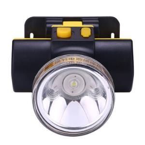 雅格(yage)LED头灯2W可换电池通宵灯两档调光YG-U1061800mAh 39元