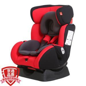 gb好孩子高速汽车儿童安全座椅欧标五点式安全带双向安装CS718-N003红黑灰适用年龄(0-7岁)    779元