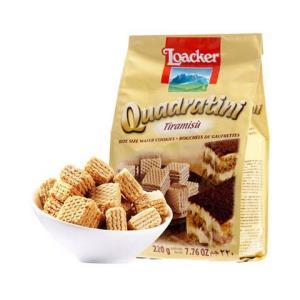 莱家(Loacker)进口饼干粒粒装威化饼干*2件50元(合25元/件)