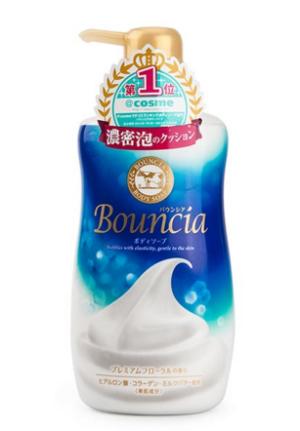 Cow牛牌Bouncia浓密泡沫沐浴露500ml补充液400ml*2件 119.04元(合59.52元/件)