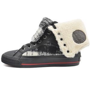 PONY波尼34W1SH06RM女士高帮硫化鞋    29元