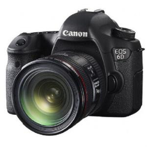 Canon佳能EOS6D(EF24-70mmf/4L)全画幅单反相机套机 8999元
