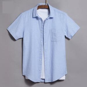 Vancl凡客诚品1093821男士麻棉短袖衬衫 64元(需用券)