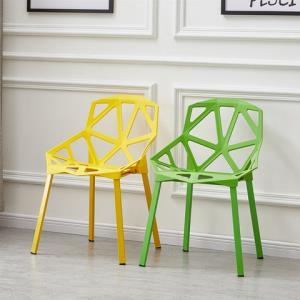 北欧餐椅现代简约家用塑料靠背椅休闲接待洽谈椅咖啡椅创意椅子99元