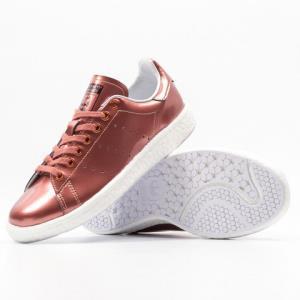 adidas阿迪达斯StanSmithBoost女款休闲运动鞋 302.4元