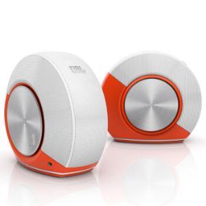 JBLPebbles音乐蜗牛电脑小音箱活力橙259元包邮