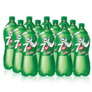 七喜7UP柠檬味汽水碳酸饮料1L*12瓶整箱装百事可乐公司出品新老包装随机发货*3件 86.65元(合28.88元/件)