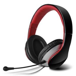 漫步者(EDIFIER)K830时尚电脑耳机电脑耳麦游戏耳机绝地求生耳机吃鸡耳机高光黑99元