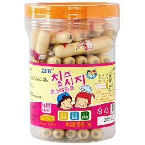 ZEK鳕鱼肠芝士味1KG*3件 184.8元(合61.6元/件)