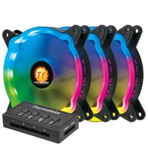 Tt玲珑风扇12LEDRGB机箱风扇散热器 159元