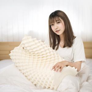 京东京造泰国天然乳胶枕头颗粒按摩枕芯偏低款93%乳胶含量泰国直采枕芯 159元