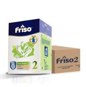 荷兰原装进口美素佳儿(Friso)婴幼儿配方奶粉2段700g/盒6盒箱装 546元
