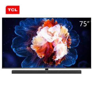 TCL75X1075英寸8K液晶电视49999元