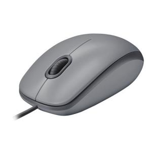 罗技M111有线静音鼠标USB笔记本台式电脑家用办公光电男女左右手M100R/M90同款静音款47元