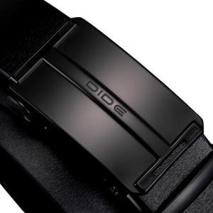 迪德DiDe皮带男士自动扣牛皮商务裤带休闲复古腰带DQ18017黑色64元